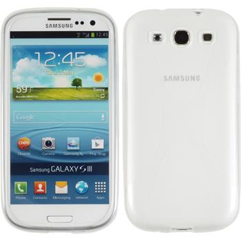Silicone Case for Samsung Galaxy S3 Neo X-Style transparent