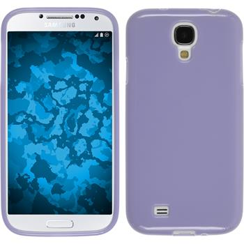 Silicone Case for Samsung Galaxy S4 Candy purple
