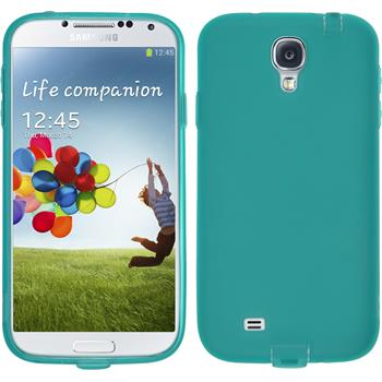 Silicone Case for Samsung Galaxy S4 Dustproof green