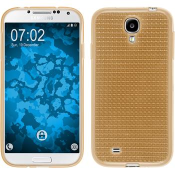 Silicone Case for Samsung Galaxy S4 Iced gold