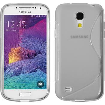 Silicone Case for Samsung Galaxy S4 Mini Plus S-Style transparent