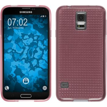 Silicone Case for Samsung Galaxy S5 Iced pink