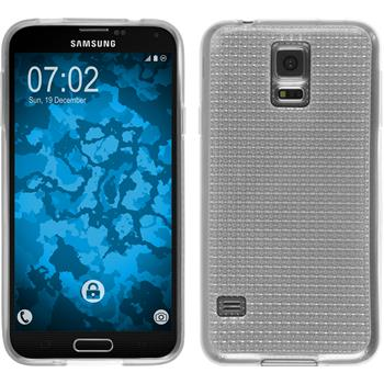Silicone Case for Samsung Galaxy S5 Iced transparent