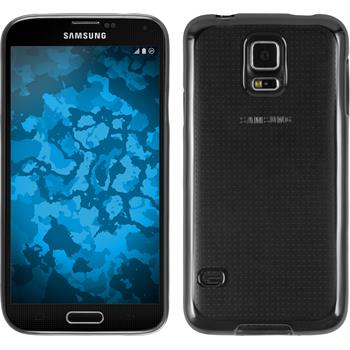 Silicone Case for Samsung Galaxy S5 Slim Fit gray