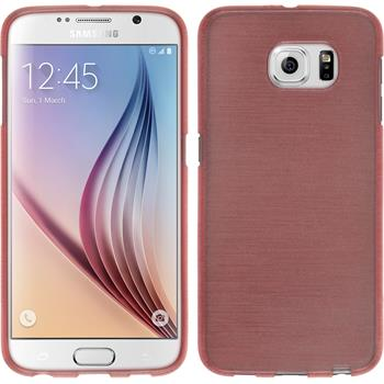 Silicone Case for Samsung Galaxy S6 brushed pink