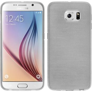Silicone Case for Samsung Galaxy S6 brushed white