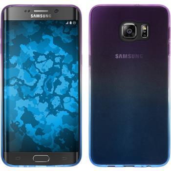 Silicone Case for Samsung Galaxy S6 Edge Plus Ombrè Design:04