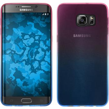 Silicone Case for Samsung Galaxy S6 Edge Plus Ombrè Design:06