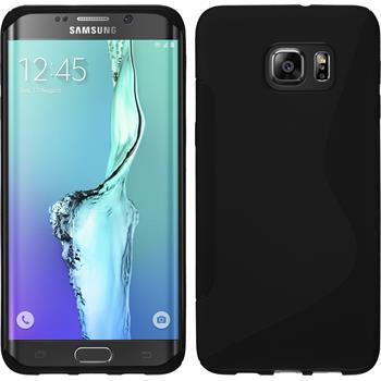Silicone Case for Samsung Galaxy S6 Edge Plus S-Style black