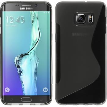 Silicone Case for Samsung Galaxy S6 Edge Plus S-Style gray