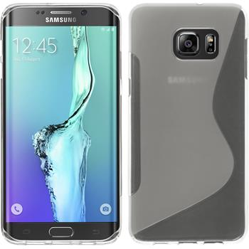 Silicone Case for Samsung Galaxy S6 Edge Plus S-Style transparent