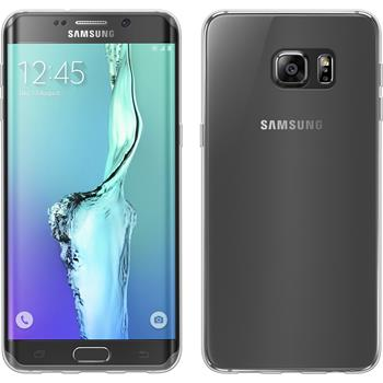 Silicone Case for Samsung Galaxy S6 Edge Plus transparent Crystal Clear