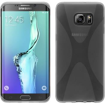 Silicone Case for Samsung Galaxy S6 Edge Plus X-Style transparent