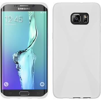 Silicone Case for Samsung Galaxy S6 Edge Plus X-Style white