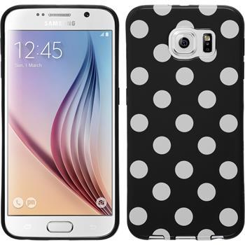 Silicone Case for Samsung Galaxy S6 Polkadot Design:01