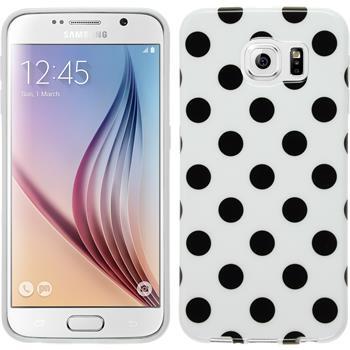 Silicone Case for Samsung Galaxy S6 Polkadot Design:06