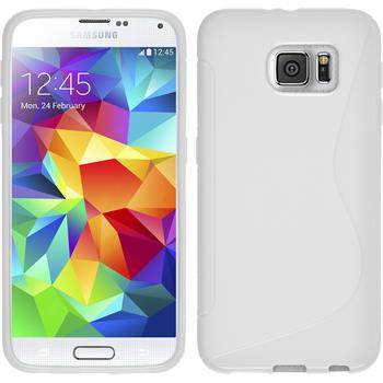 Silicone Case for Samsung Galaxy S6 S-Style white