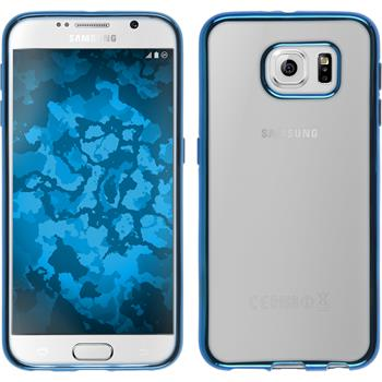 Silicone Case for Samsung Galaxy S6 Slim Fit blue