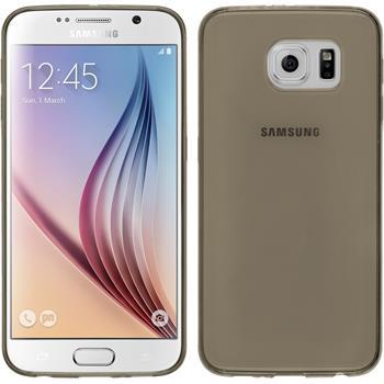 Silicone Case for Samsung Galaxy S6 Slimcase black