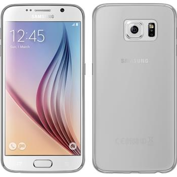 Silicone Case for Samsung Galaxy S6 transparent Crystal Clear