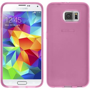 Silicone Case for Samsung Galaxy S6 transparent pink