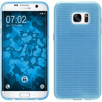 Silicone Case for Samsung Galaxy S7 Edge Iced light blue