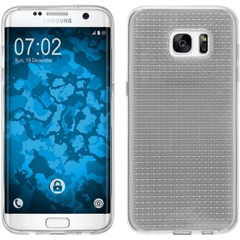 Silicone Case for Samsung Galaxy S7 Edge Iced transparent