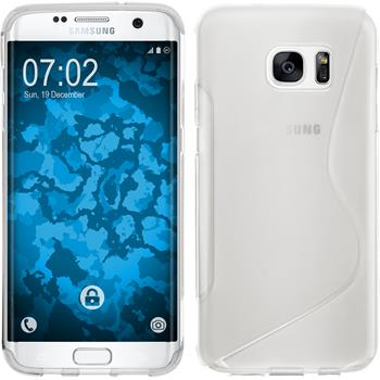 Silicone Case for Samsung Galaxy S7 Edge S-Style transparent