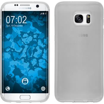 Silicone Case for Samsung Galaxy S7 Edge transparent white