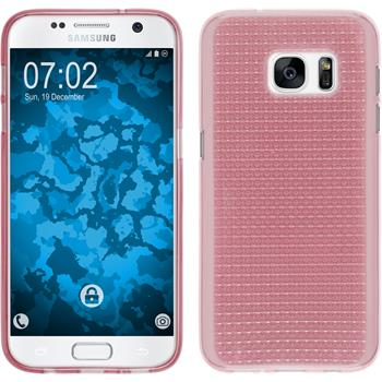 Silicone Case for Samsung Galaxy S7 Iced pink