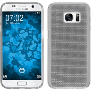 Silicone Case for Samsung Galaxy S7 Iced transparent
