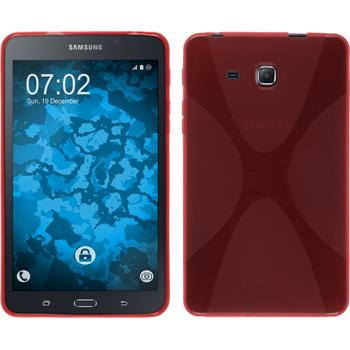 Silicone Case Galaxy Tab A 7.0 2016 (T280) X-Style red