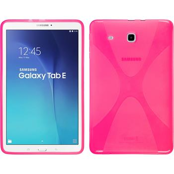 Silicone Case for Samsung Galaxy Tab E 9.6 X-Style hot pink