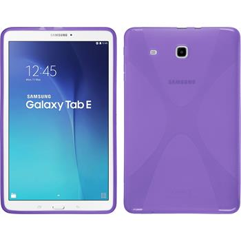 Silicone Case for Samsung Galaxy Tab E 9.6 X-Style purple
