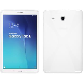 Silicone Case for Samsung Galaxy Tab E 9.6 X-Style white