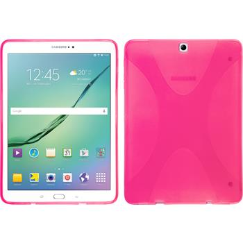 Silicone Case for Samsung Galaxy Tab S2 9.7 X-Style hot pink