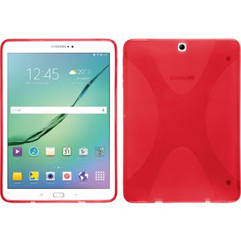 Silicone Case for Samsung Galaxy Tab S2 9.7 X-Style red