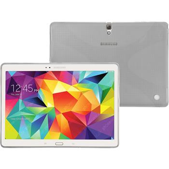 Silicone Case for Samsung Galaxy Tab S 10.5 X-Style transparent