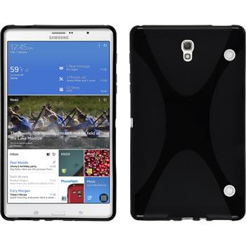 Silicone Case for Samsung Galaxy Tab S 8.4 X-Style black