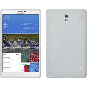 Silicone Case for Samsung Galaxy Tab S 8.4 X-Style white