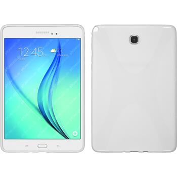 Silicone Case for Samsung Galaxy Tab A 8.0 X-Style white