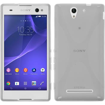 Silicone Case for Sony Xperia C3 X-Style transparent