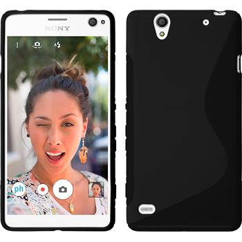 Silicone Case for Sony Xperia C4 / Dual S-Style black