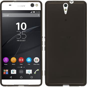 Silicone Case for Sony Xperia C5 Ultra transparent black
