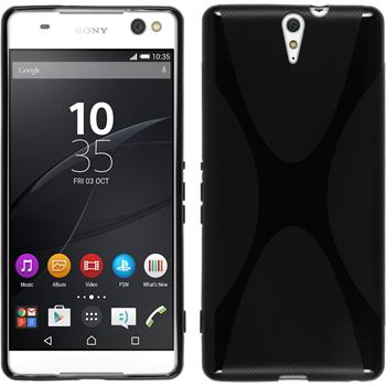 Silicone Case for Sony Xperia C5 Ultra X-Style black