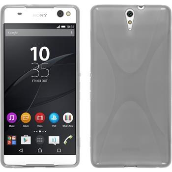 Silicone Case for Sony Xperia C5 Ultra X-Style gray