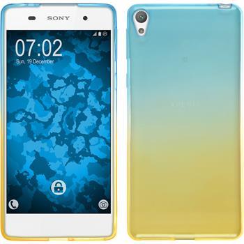 Silicone Case for Sony Xperia E5 Ombrè Design:02