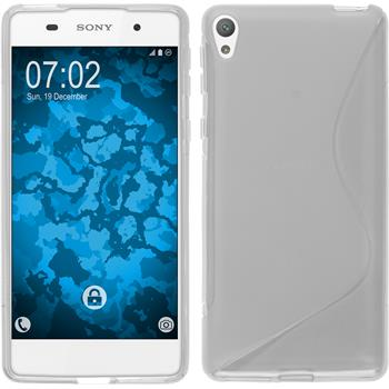 Silicone Case for Sony Xperia E5 S-Style transparent