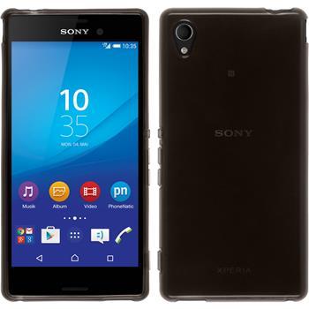 Silicone Case for Sony Xperia M4 Aqua transparent black