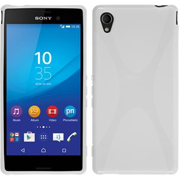 Silicone Case for Sony Xperia M4 Aqua X-Style white
